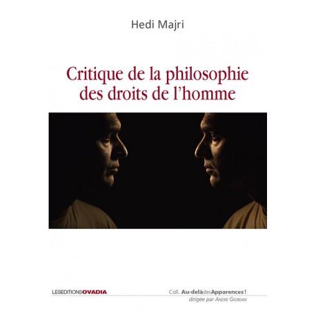 Critique de la philosophie des droits de l'homme