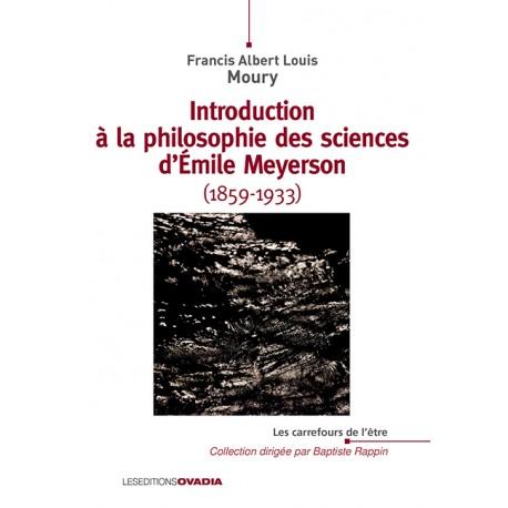 Introduction à la philosophie des sciences d'Émile Meyerson (1859-1933)