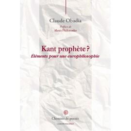 Eléments pour une europhilosophie